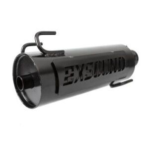 exsound bolt-on muffler for atv
