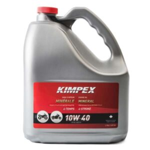 3.78 litre jug kimpex 4M mineral atv engine oil
