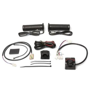 atv and utv handlebar grip heater and thumb warmer kit