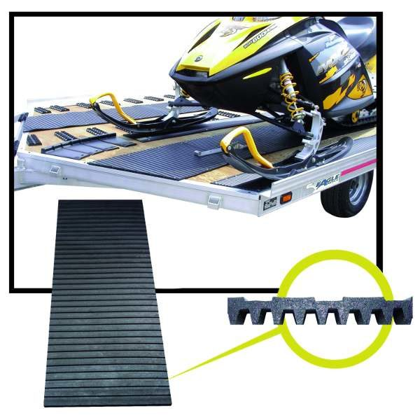 traxmat snowmobile trailer surface protection