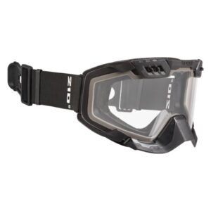 matte black framed ckx goggles with controlled ventilation