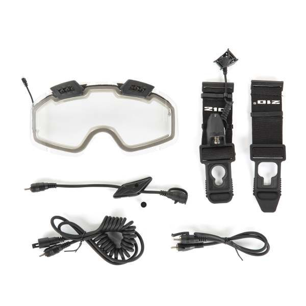 ckx electric 210 goggles with accessories
