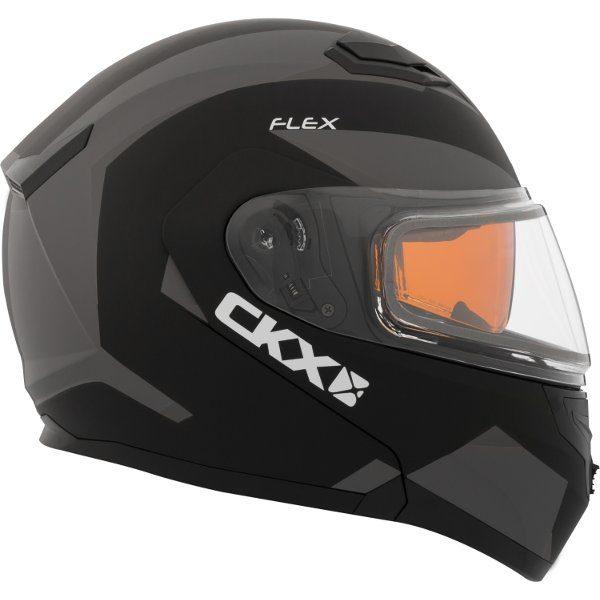 ckx flex rsv modular snowmobile helmet
