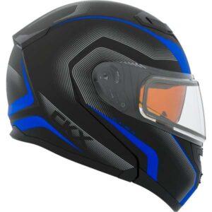 ckx flex rsv modular snowmobile helmet lucas model
