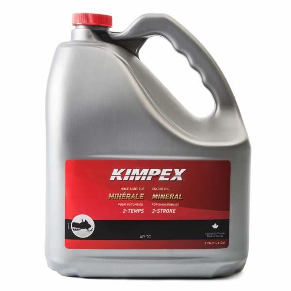 kimpex snowmobile mineral engine oil 3.78 litre jug