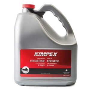 kimpex snowmobile synthetic engine oil 3.78 litre jug
