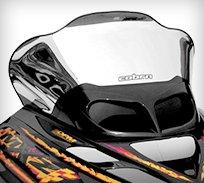 snowmobile body parts & accessories